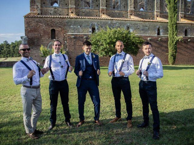 Il matrimonio di Paul e Chiara a Chiusdino, Siena 44