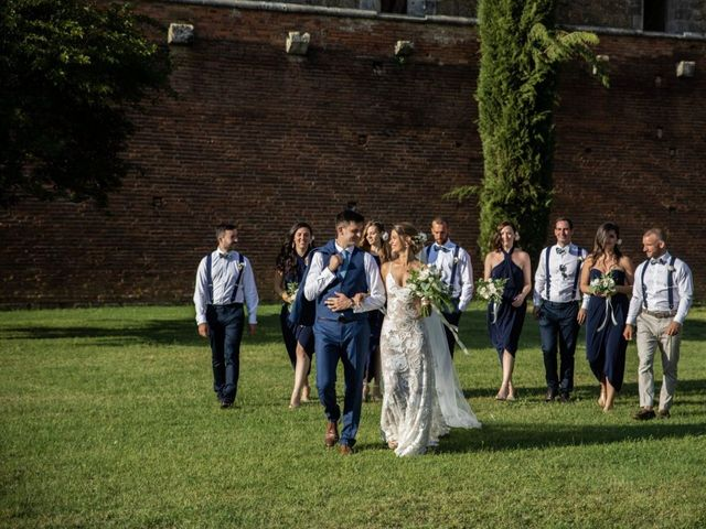 Il matrimonio di Paul e Chiara a Chiusdino, Siena 45