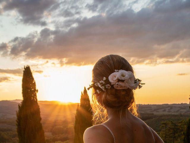Il matrimonio di Paul e Chiara a Chiusdino, Siena 52