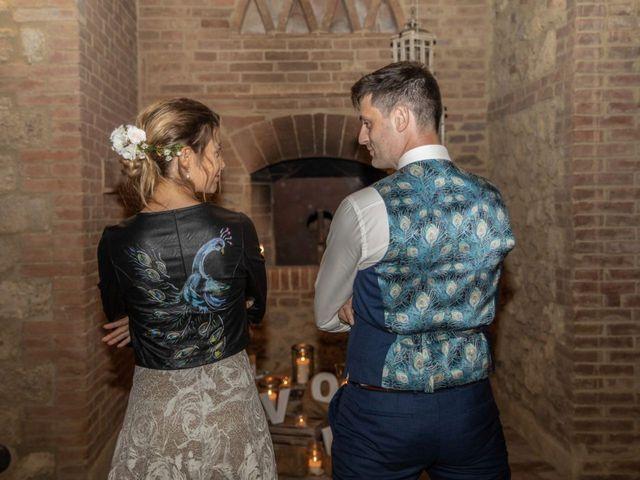 Il matrimonio di Paul e Chiara a Chiusdino, Siena 61