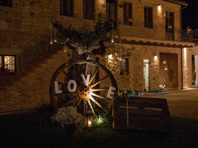 Il matrimonio di Paul e Chiara a Chiusdino, Siena 70