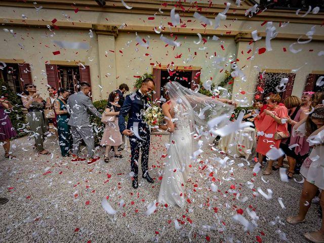 Il matrimonio di Alberto e Gaetana a Castello di Godego, Treviso 15