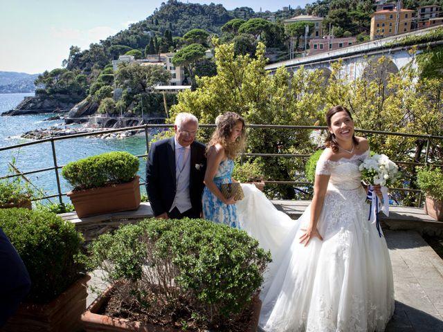 Il matrimonio di Alessandro e Simona a Zoagli, Genova 15