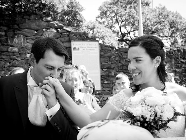 Il matrimonio di Alessandro e Simona a Zoagli, Genova 20
