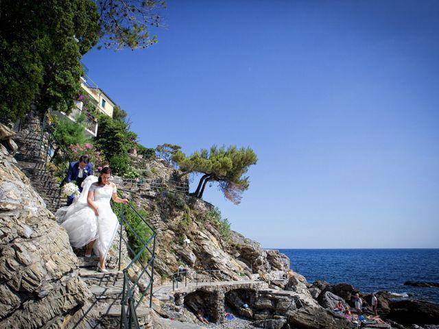 Il matrimonio di Alessandro e Simona a Zoagli, Genova 26