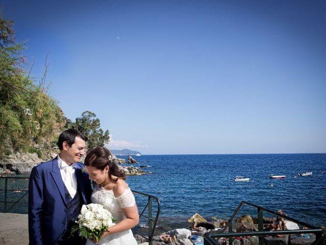 Il matrimonio di Alessandro e Simona a Zoagli, Genova 30