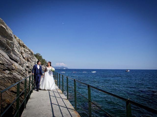 Il matrimonio di Alessandro e Simona a Zoagli, Genova 34