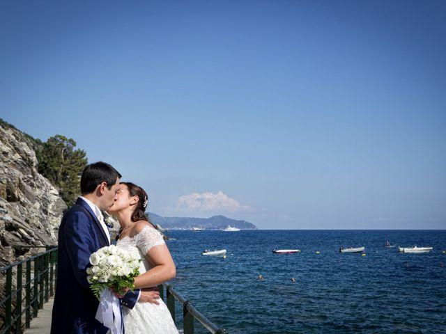 Il matrimonio di Alessandro e Simona a Zoagli, Genova 35