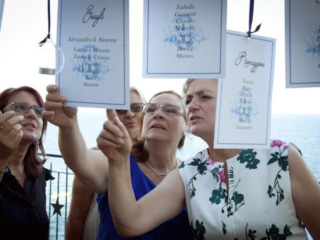 Il matrimonio di Alessandro e Simona a Zoagli, Genova 42