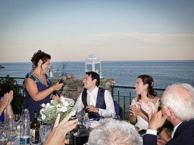 Il matrimonio di Alessandro e Simona a Zoagli, Genova 47