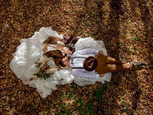 Le nozze di Alain e Valeria