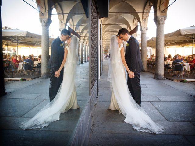 Il matrimonio di Alex e Angela a Vigevano, Pavia 28