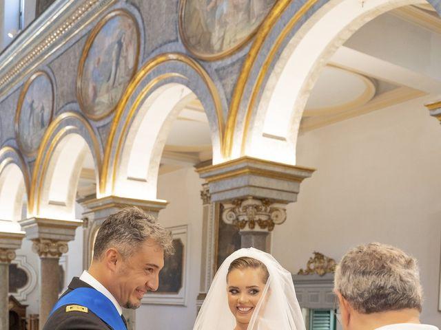Il matrimonio di Angelo e Anna a Sorrento, Napoli 34