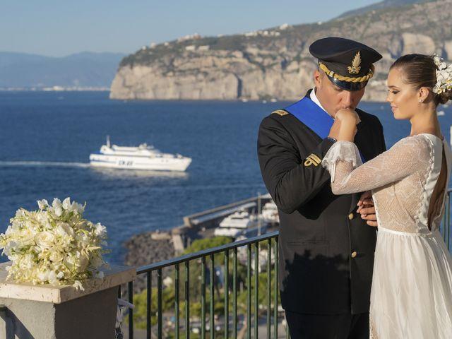 Il matrimonio di Angelo e Anna a Sorrento, Napoli 41