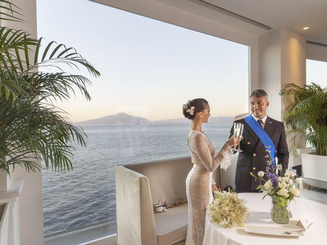 Il matrimonio di Angelo e Anna a Sorrento, Napoli 61