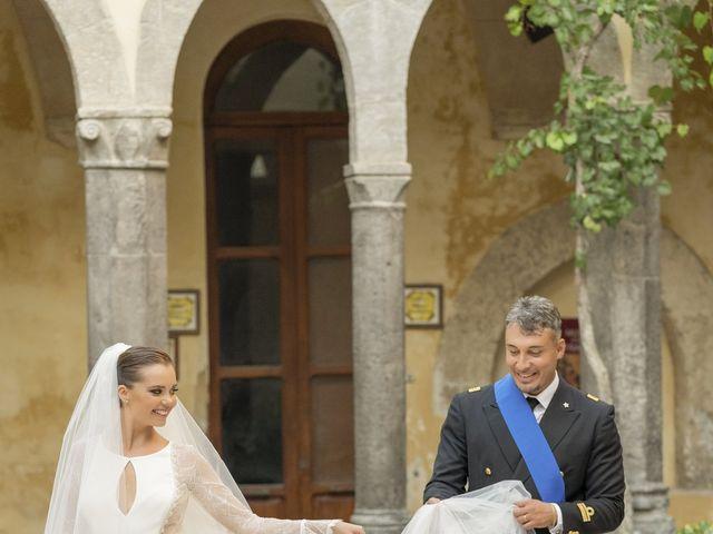 Il matrimonio di Angelo e Anna a Sorrento, Napoli 64