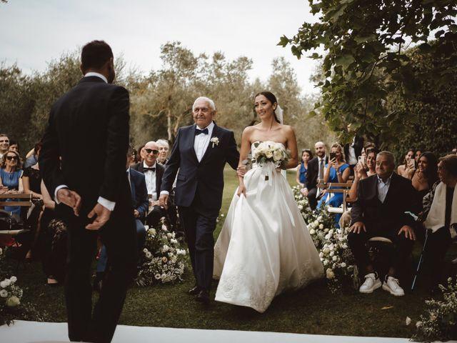 Il matrimonio di Antonino e Valentina a Montespertoli, Firenze 13