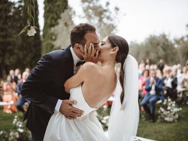 Il matrimonio di Antonino e Valentina a Montespertoli, Firenze 23