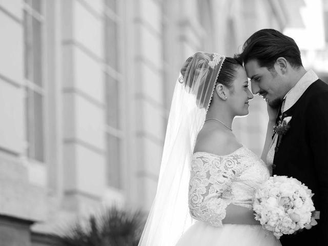 le nozze di Melania e Antonio