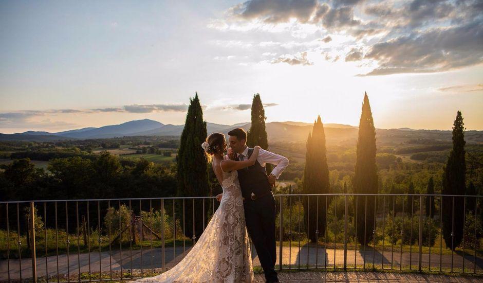 Il matrimonio di Paul e Chiara a Chiusdino, Siena