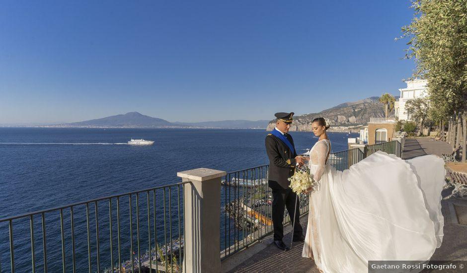 Il matrimonio di Angelo e Anna a Sorrento, Napoli