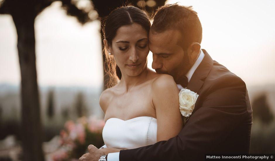 Il matrimonio di Antonino e Valentina a Montespertoli, Firenze