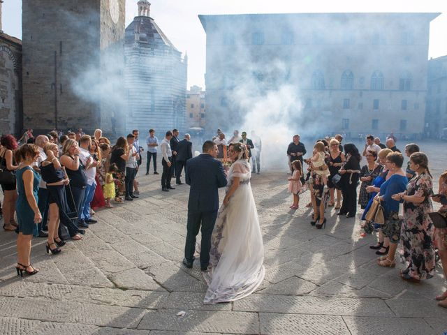 Il matrimonio di Graziano e Elisa a Pistoia, Pistoia 20
