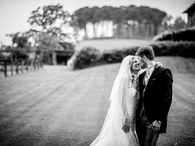 le nozze di Edith e Hugues