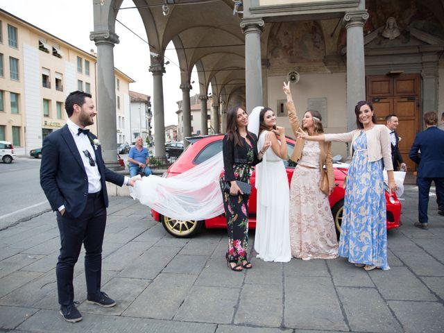 Il matrimonio di Matilde e Cristiano a Pistoia, Pistoia 26