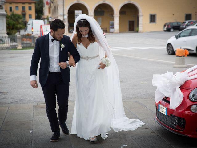 Il matrimonio di Matilde e Cristiano a Pistoia, Pistoia 34