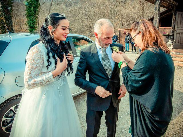 Il matrimonio di Angel Luis e Shayne a Soriso, Novara 16