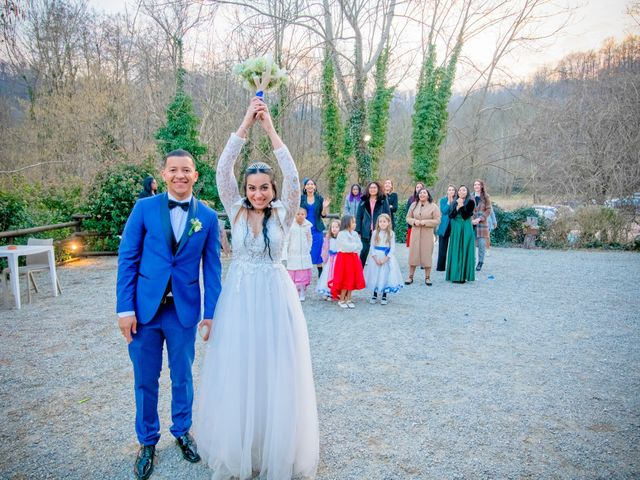Il matrimonio di Angel Luis e Shayne a Soriso, Novara 22