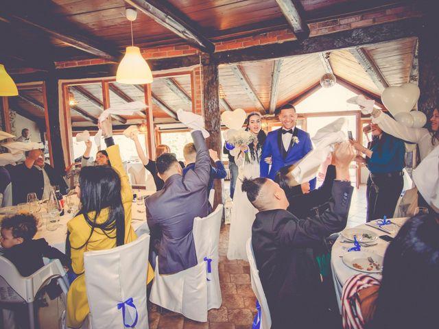 Il matrimonio di Angel Luis e Shayne a Soriso, Novara 33