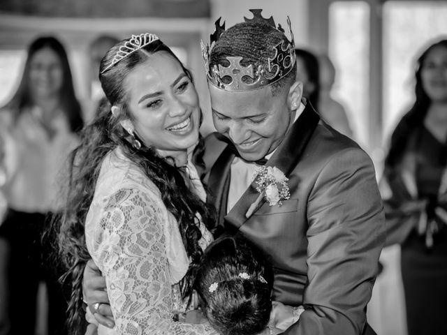 Il matrimonio di Angel Luis e Shayne a Soriso, Novara 34