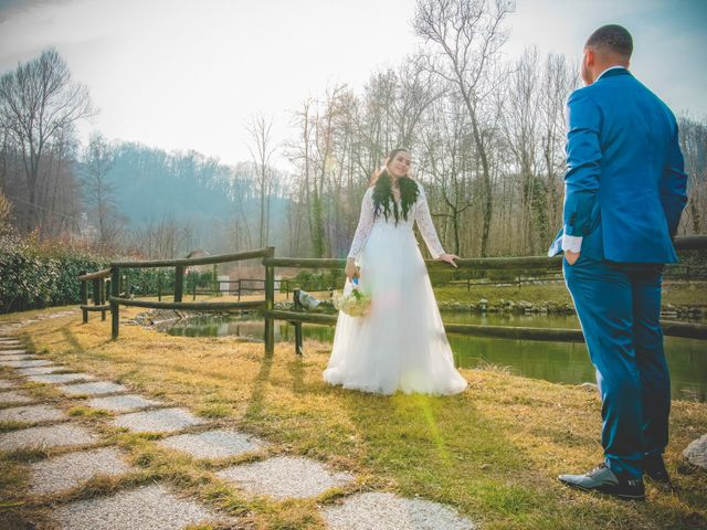 Il matrimonio di Angel Luis e Shayne a Soriso, Novara 39