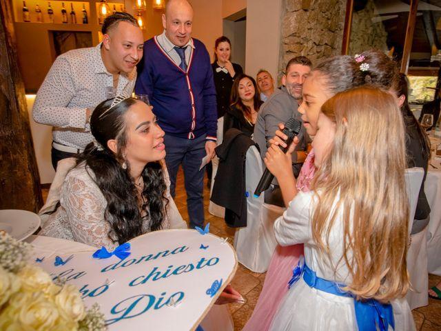 Il matrimonio di Angel Luis e Shayne a Soriso, Novara 43
