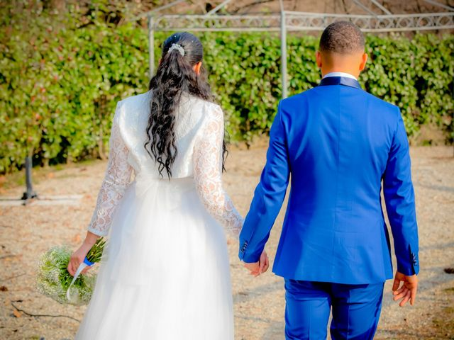 Il matrimonio di Angel Luis e Shayne a Soriso, Novara 47
