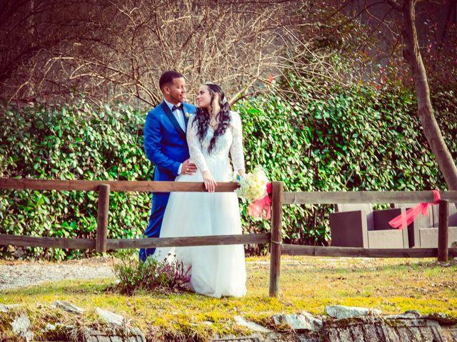 Il matrimonio di Angel Luis e Shayne a Soriso, Novara 48