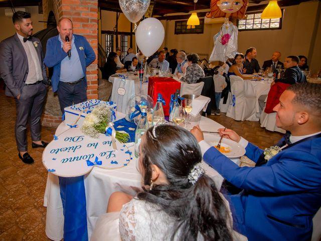 Il matrimonio di Angel Luis e Shayne a Soriso, Novara 57