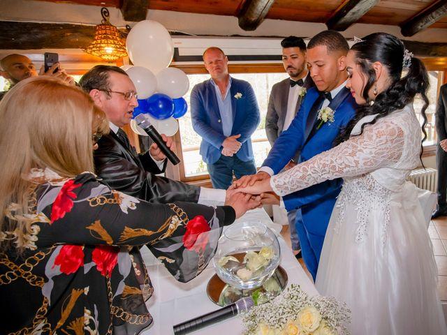 Il matrimonio di Angel Luis e Shayne a Soriso, Novara 60
