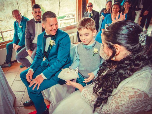 Il matrimonio di Angel Luis e Shayne a Soriso, Novara 61