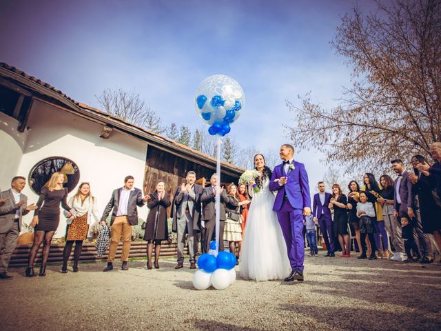 Il matrimonio di Angel Luis e Shayne a Soriso, Novara 64