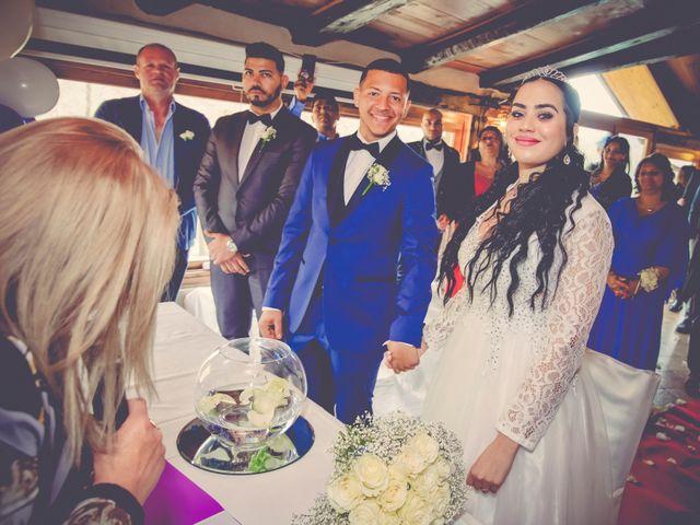 Il matrimonio di Angel Luis e Shayne a Soriso, Novara 66