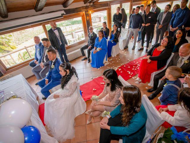 Il matrimonio di Angel Luis e Shayne a Soriso, Novara 71
