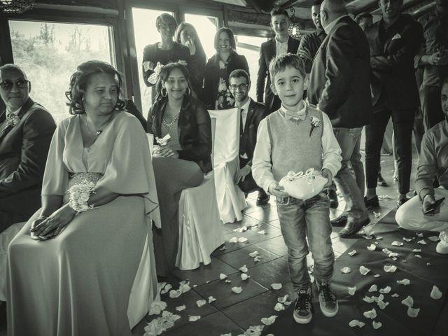 Il matrimonio di Angel Luis e Shayne a Soriso, Novara 72