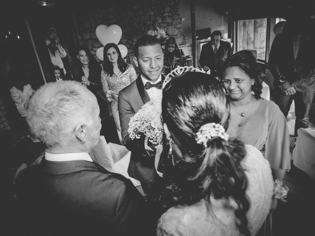 Il matrimonio di Angel Luis e Shayne a Soriso, Novara 81