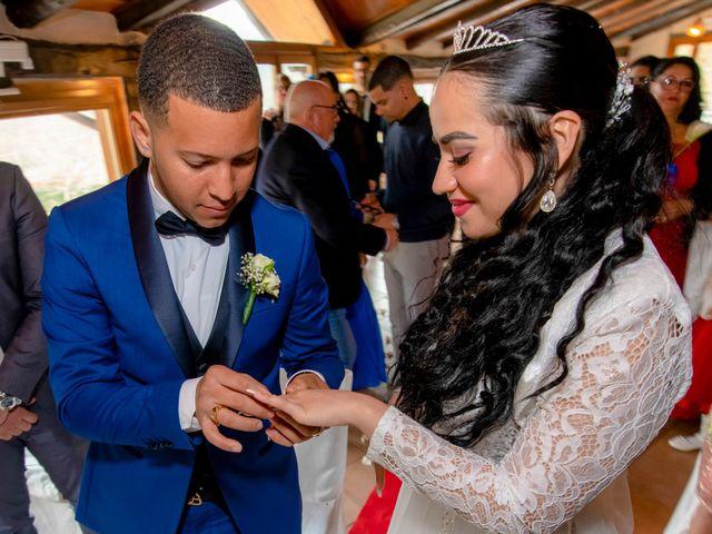 Il matrimonio di Angel Luis e Shayne a Soriso, Novara 82