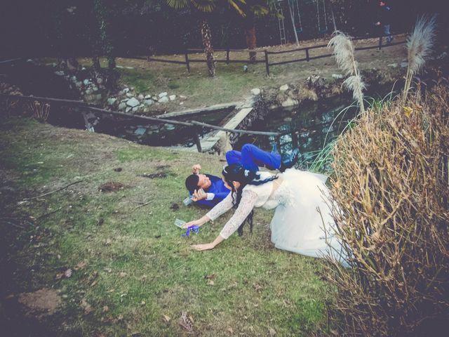 Il matrimonio di Angel Luis e Shayne a Soriso, Novara 96