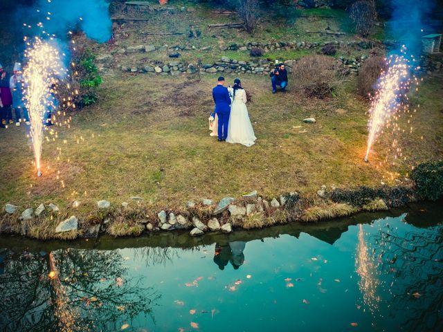 Il matrimonio di Angel Luis e Shayne a Soriso, Novara 97