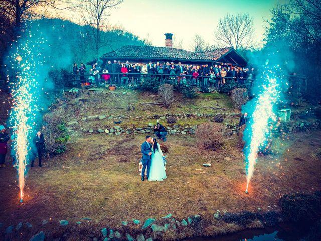 Il matrimonio di Angel Luis e Shayne a Soriso, Novara 98